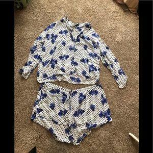 ASOS curve pajama set